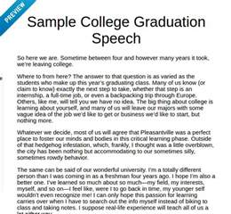 how to write a graduation speech quora