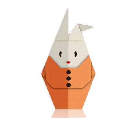 Paper Folding Rabbit - paper folding of rabbits by a deft confuciusmag