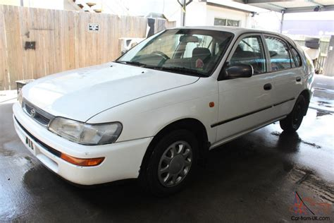 1997 Toyota Corolla Seca Toyota Corolla Csi Seca 1997 5d Liftback 5 Sp Manual 1 6l