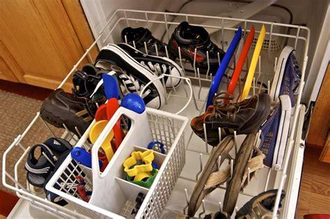 wash shoes in dishwasher brady lou project guru