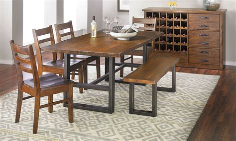 pine dining room sets wallace ii pine dining set haynes furniture virginia s