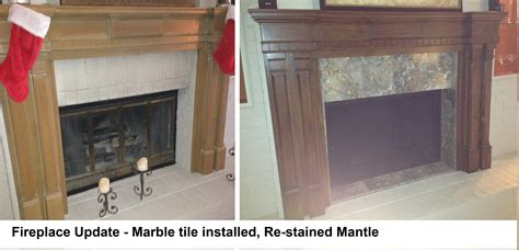 How To Refinish A Fireplace by Fireplace