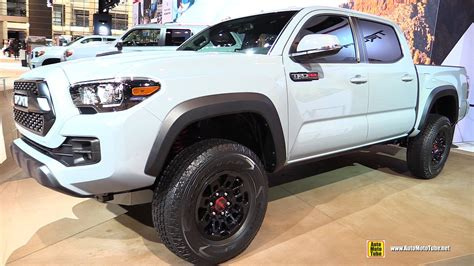 2017 toyota tacoma trd pro exterior and interior