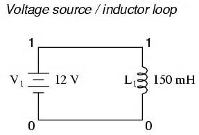 hspice inductor voltage source loop found containing 28 images commutation cell problem 1