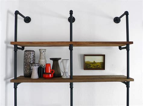 wood and pipe shelves 31 magnificent reclaimed wood shelves