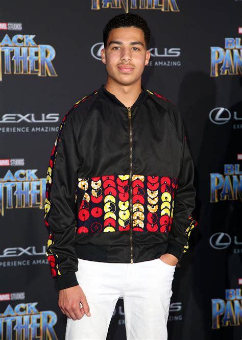marcus scribner 2018 marcus scribner at film premiere of black panther sandra