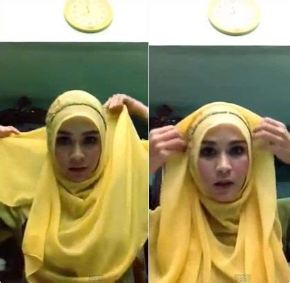 tutorial hijab paris menutup dada hijab tutorial ala zaskia mecca hijab top tips