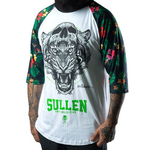 tattoo clothing jungle fever raglan clothing sullen