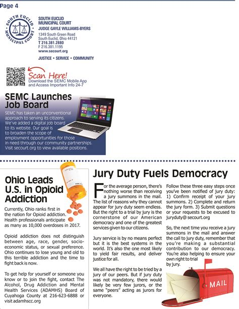 Euclid Municipal Court Search Semc News Fall 2017 South Euclid Court
