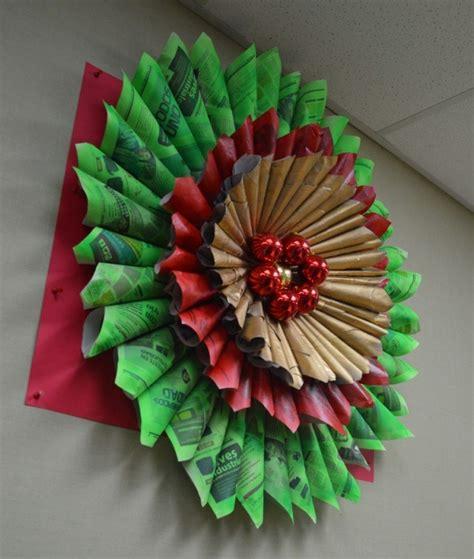 decoracion reciclada im 225 genes de navidad con decoraci 243 n navide 241 a reciclada