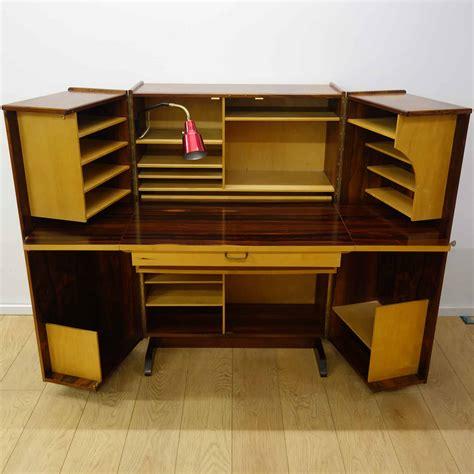 desk in a box rosewood magic box desk by pfieffer parrish