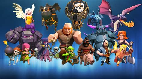 clash of clans troop characters clash of clans reached up to 100 million downloads on play