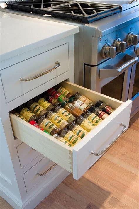 17 best ideas about kitchen spice storage on