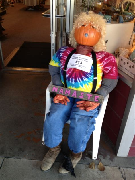 couch potato paso robles scarecrows lurking in downtown paso robles paso robles