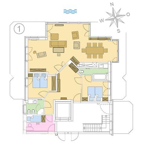Apartment Mit 1 Schlafzimmer Grundriss by Strandresidenz K 252 Hlungsborn Exklusive Ferienwohnungen Ostsee
