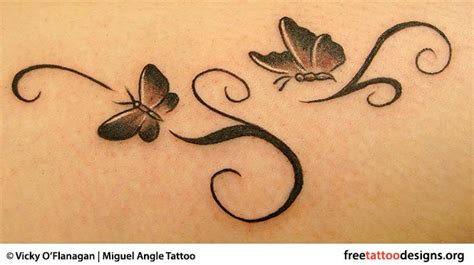delicate butterfly tattoo designs feminine tattoos designs for and