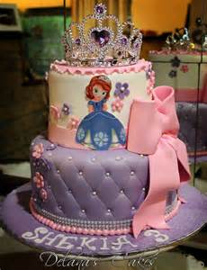 delana s cakes sofia the first cake
