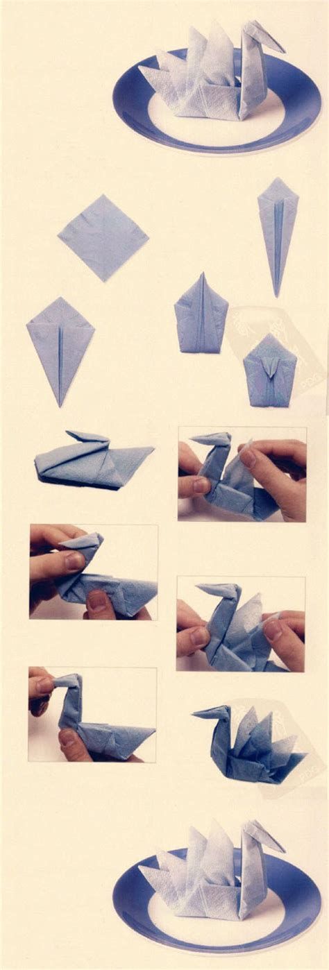 Paper Napkin Folding Directions - 25 napkin folding techniques that will transform your