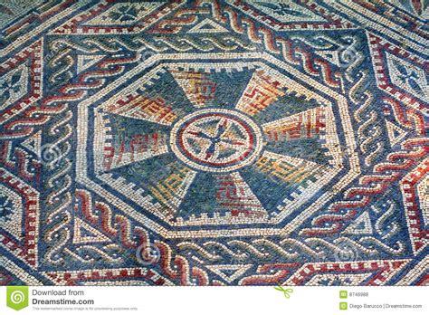 Mosaic L by Villa Mosaic Sicily Stock Photo Image 8746988