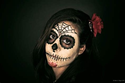tutorial di makeup per halloween trucchi per un look trucco halloween 2013 idee