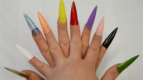 tip colors learn colors nail arts ten tip nail colours big