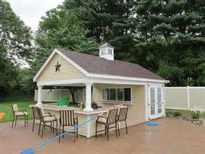 superb garage pool house plans #1: 14-x-22-custom-pool-house.jpg
