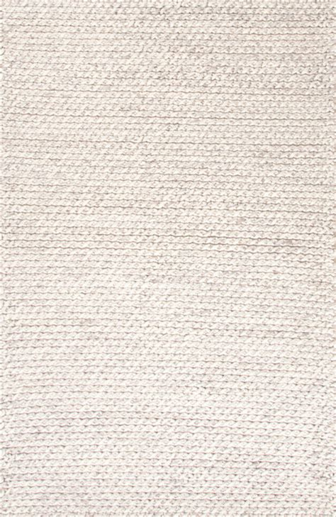 Textured Area Rugs Textured Ultra Plush Wool Ivory Gray Area Rug 5 X 8 Eclectic Rugs By Aster