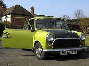 Mini Cooper Mr Bean Mr Bean Gadget Show Competition Prizes