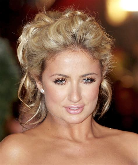 Hairstyles Curly Hair Updos   wavy hairstyles tips and advice