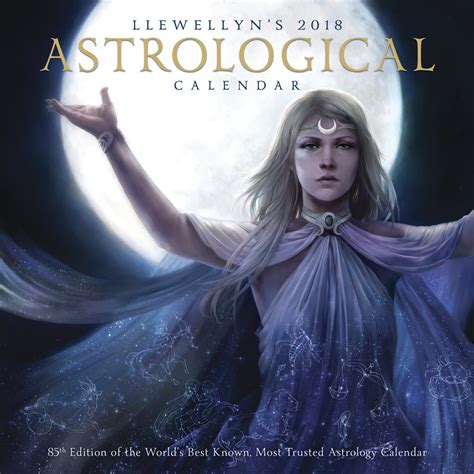 astrological almanac for 2018 books llewellyn s 2018 astrological calendar witch gifts