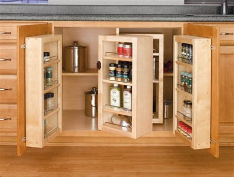Kitchen Cabinet Storage Systems Base Cabinet Swing Out Pantry System