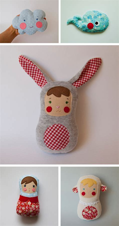 Handmade Baby Toys Patterns - handmade creatures