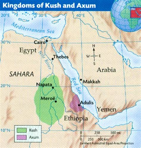 africa map kush nerds of the world february 2011