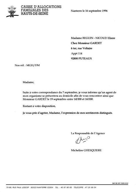 Exemple De Lettre Familiale De La Corruption Au Crime D Etat Nicoud Eliane Et Les Caisses D Allocations Familiales Caf