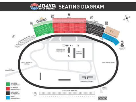 atlanta motor speedway ticket office seating chart nascar atlanta motor speedway