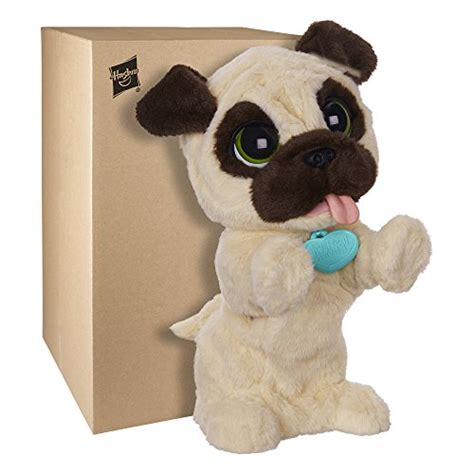furreal friends pug target toys stuffed animals and plush furreal friends jj my jumpin pug pet plush