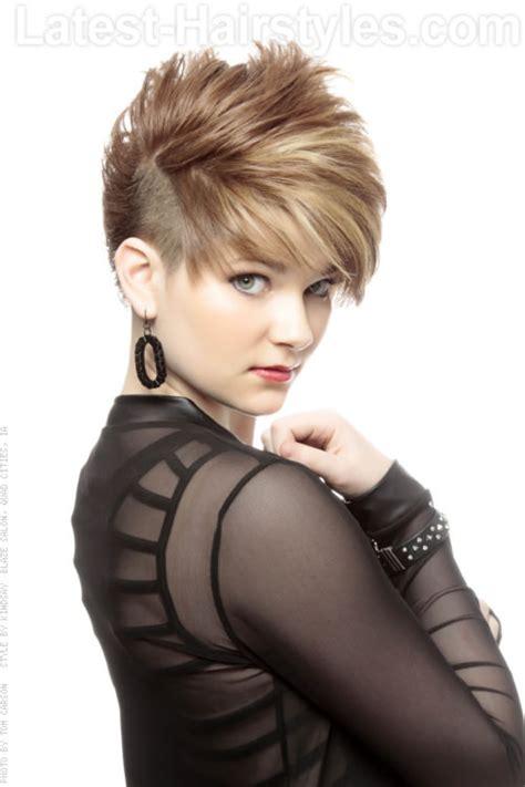 edgy short hair in the back short hairstyles very short edgy hairstyles for women