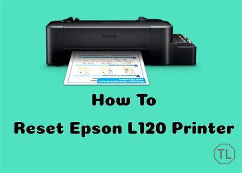 reset printer l120 how to use epson l120 resetter adjustment program
