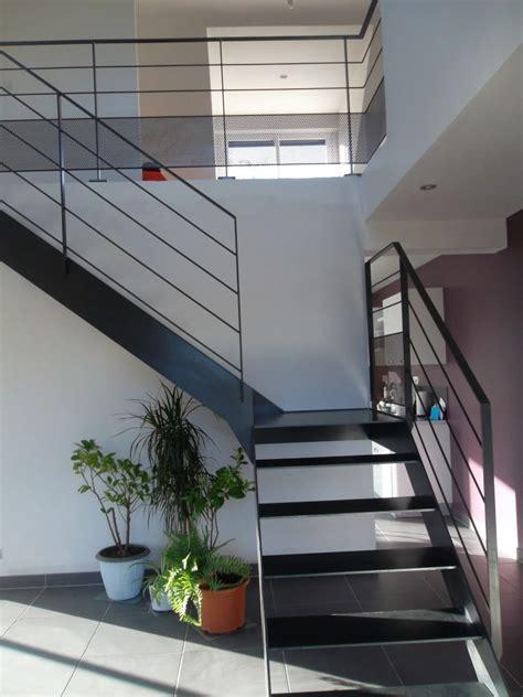Escalier Quart Tournant 127 by Escalier Metal Bois Quart Tournant