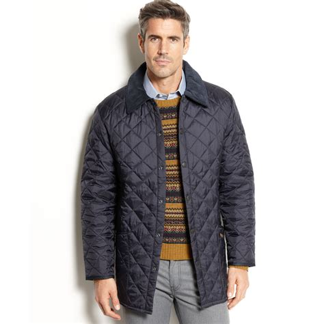 Barbour Quilted Jacket by Barbour Barbour Liddesdale Quilted Jacket In Blue For