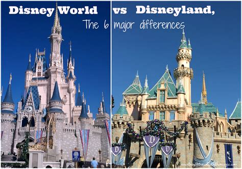the better disney disney world vs disney land smackdown disneyland versus disney world the 6 major differences