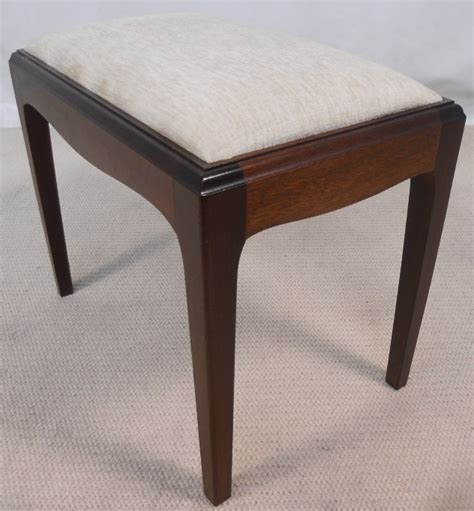 Stag Stool by Stag Mahogany Dressing Stool