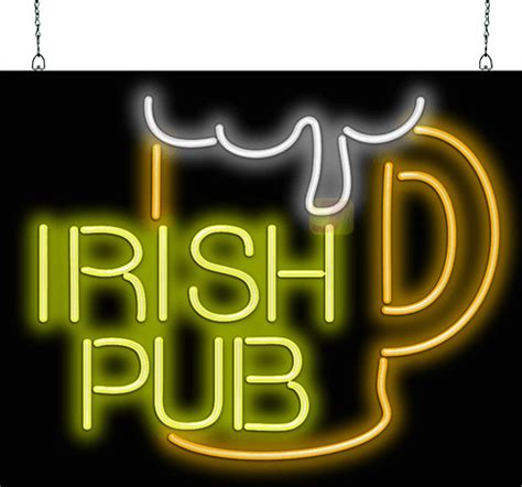 irish pub neon sign fl   jantec neon