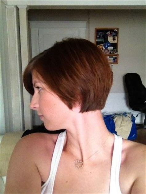 bob haircuts cut short into the neck grow out pixie cuts and growing out pixie on pinterest