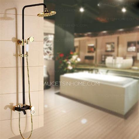 Advanced Shower Systems by High End Brass Black Antique Bronze Shower Faucet System