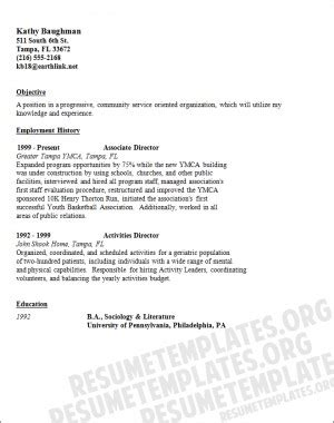 community service resume template server resumes with quotes quotesgram