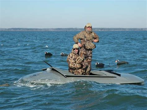 duck hunting from a boat in maryland sea ducks on the chesapeake with wayne radcliffe