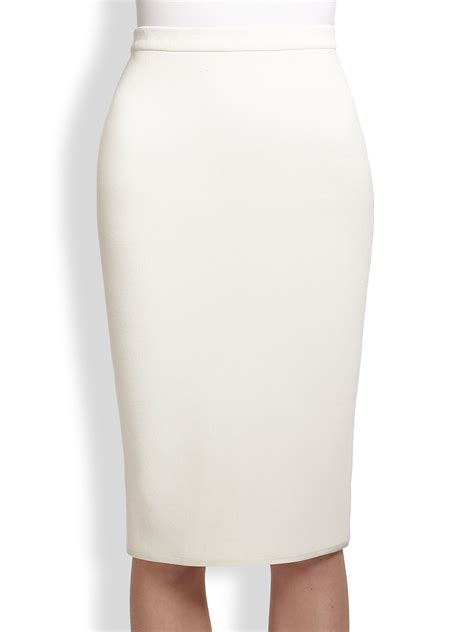 theyskens theory sencil stretch knit pencil skirt in