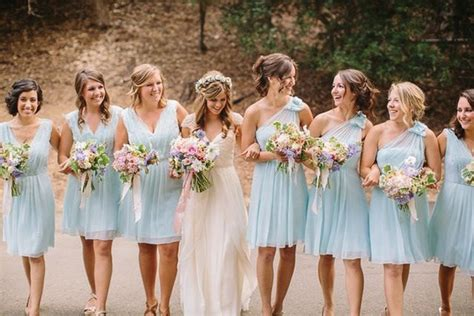 redhead bridesmaid wearing blue dress 2015 hairdo blue bridesmaid dresses what to choose where to find