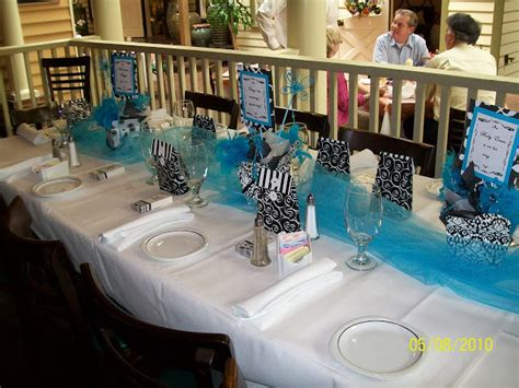 bridal shower decoration ideas at a restaurant three tablescapes baby shower beachy thanksgiving